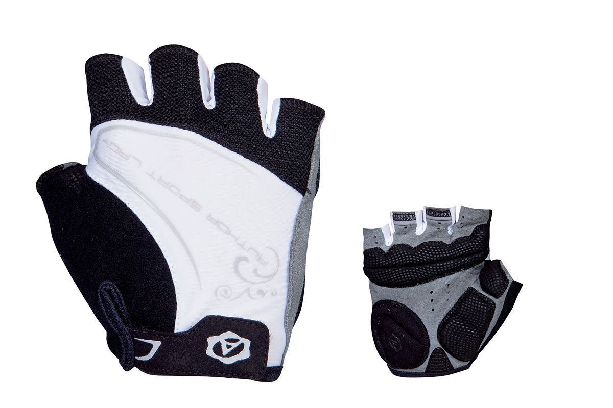AUTHOR Rukavice Lady Comfort Gel k/p S (bílá/černá)