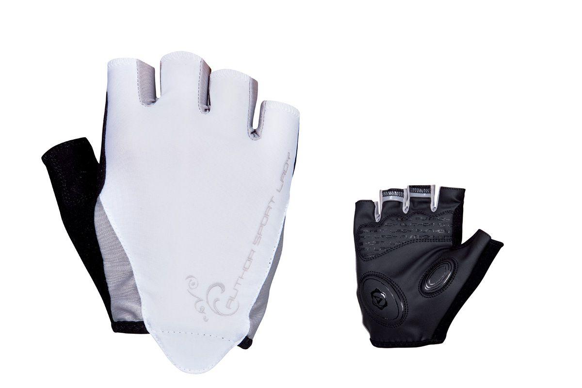 AUTHOR Rukavice Lady Sport Gel k/p L (bílá/černá)