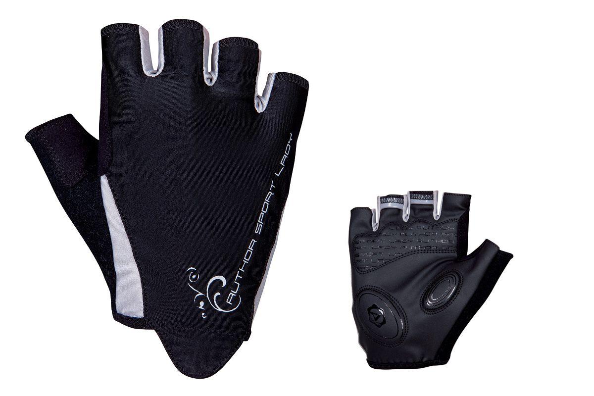 AUTHOR Rukavice Lady Sport Gel k/p L (černá/bílá)