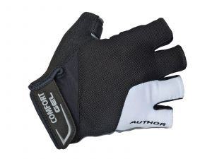 AUTHOR Rukavice Men Comfort Gel X6 k/p S (bílá/černá)