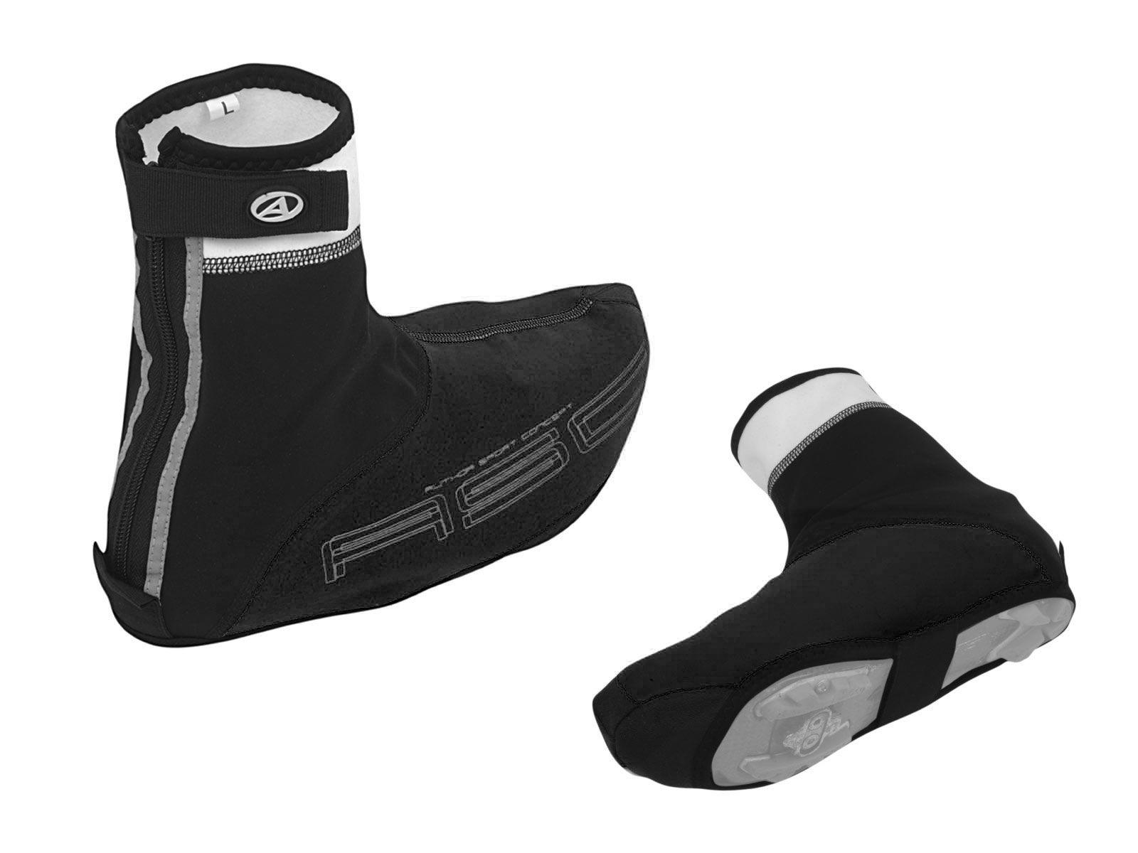 AUTHOR Návleky boty WinterProof XL 45-46 (černá/bílá)