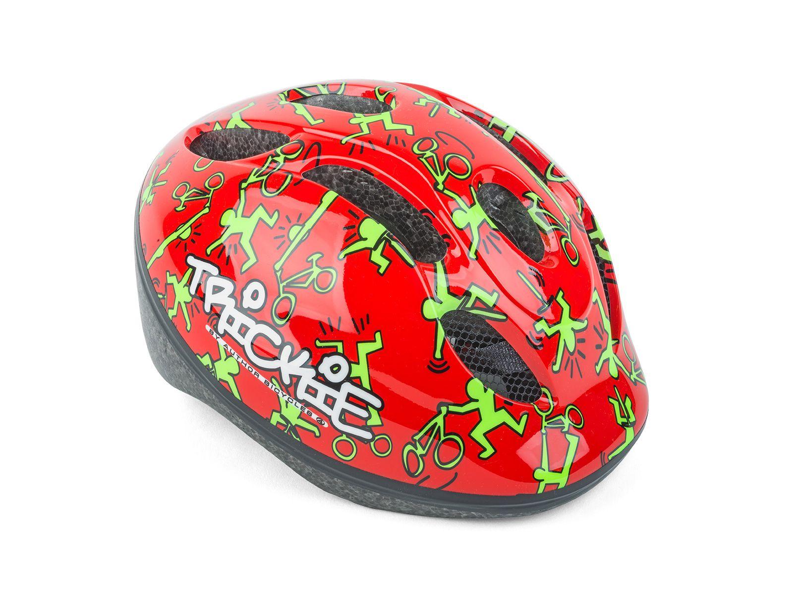 AUTHOR Přilba Trickie 49-56cm (151 červená/zelená)