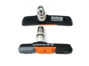 AUTHOR Botky ABS - 3CC   (černá/oranžová/šedá)
