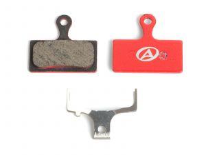 AUTHOR Brzdové destičky ABS-26S Shi G01  (červená)