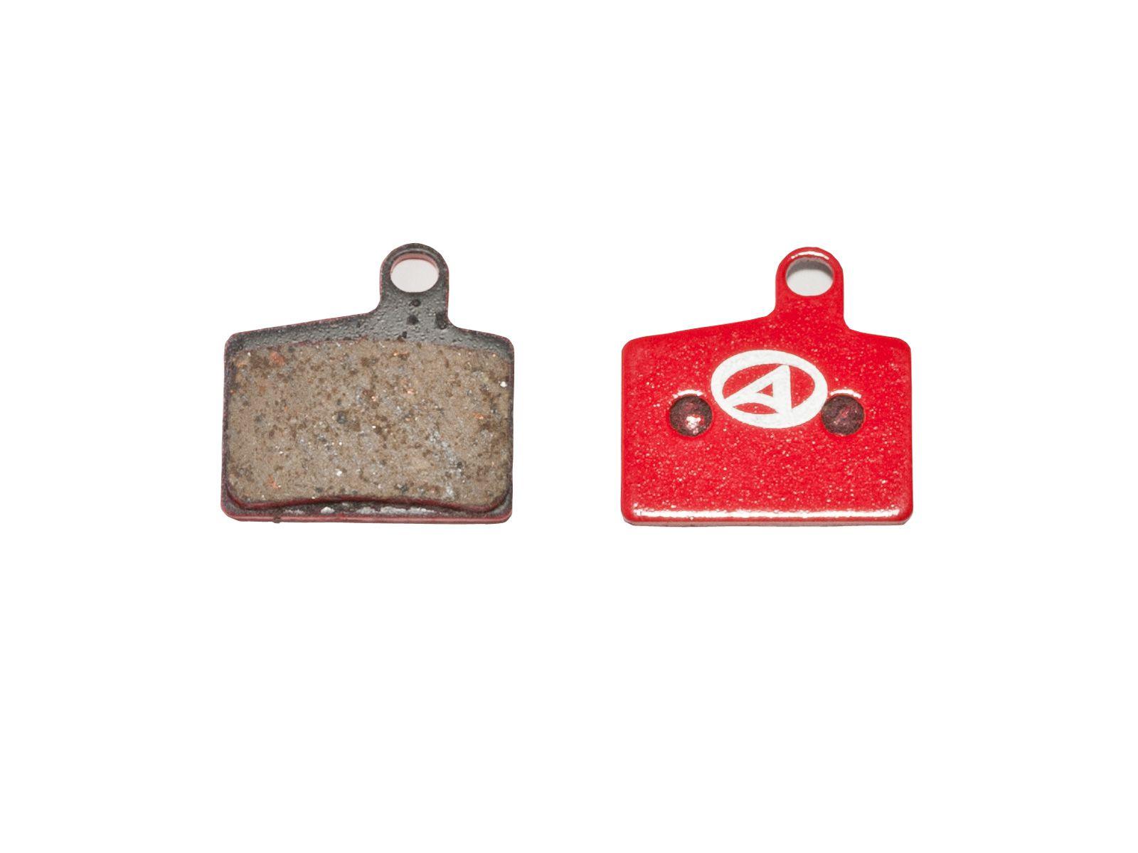 AUTHOR Brzdové destičky ABS-44 Hayes Stroker Ryde (červená)