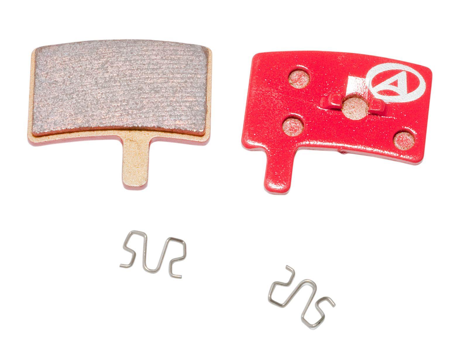 AUTHOR Brzdové destičky ABS-45S Hayes Stroker Trial (červená)