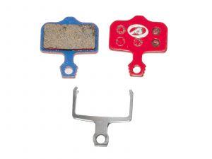 AUTHOR Brzdové destičky ABS-65 Avid Elixir   (červená)
