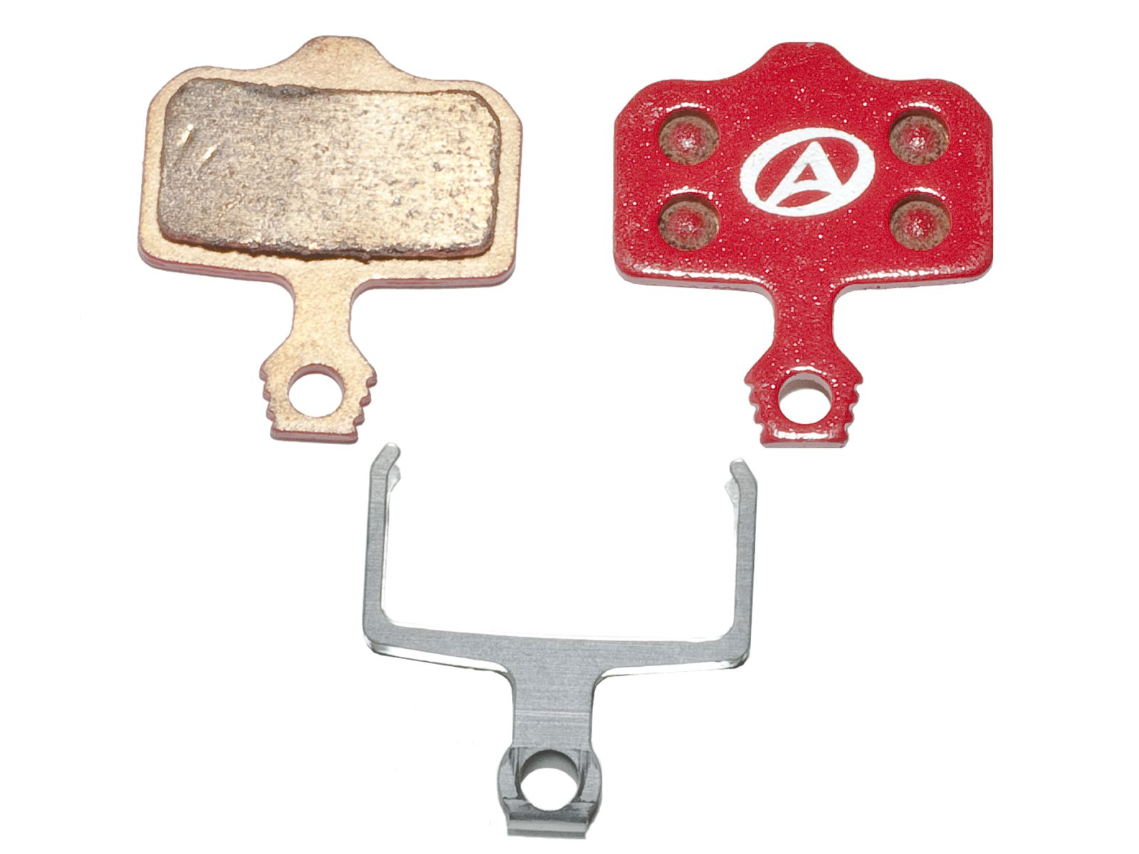 AUTHOR Brzdové destičky ABS-65S Avid Elixir (červená)