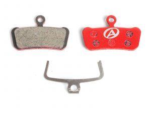 AUTHOR Brzdové destičky ABS-67 Avid Guide  (červená)