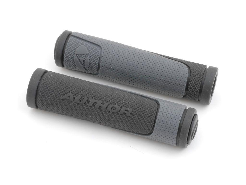 AUTHOR Gripy AGR R600 D3 l.130mm (šedá/černá)
