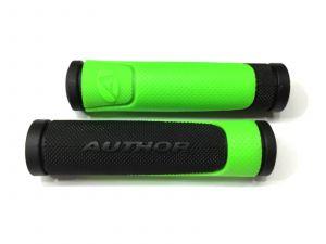 AUTHOR Gripy AGR R600 D3  l.130mm (zelená-neonová/černá)