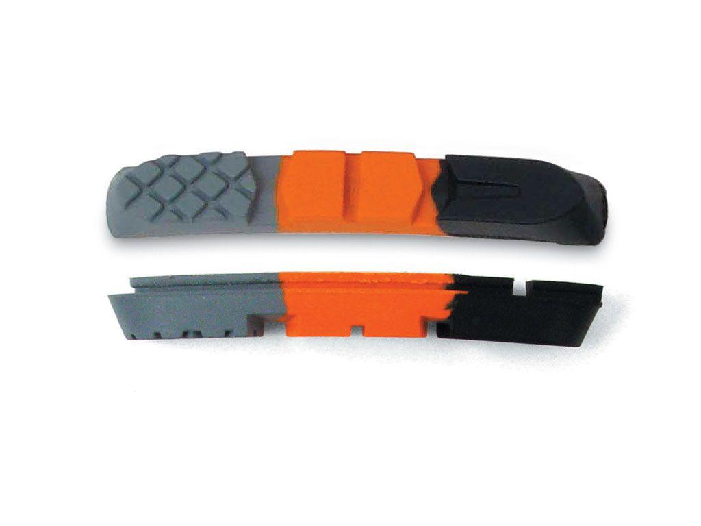 AUTHOR Gumy ABS - 3CC - P (černá/oranžová/šedá)
