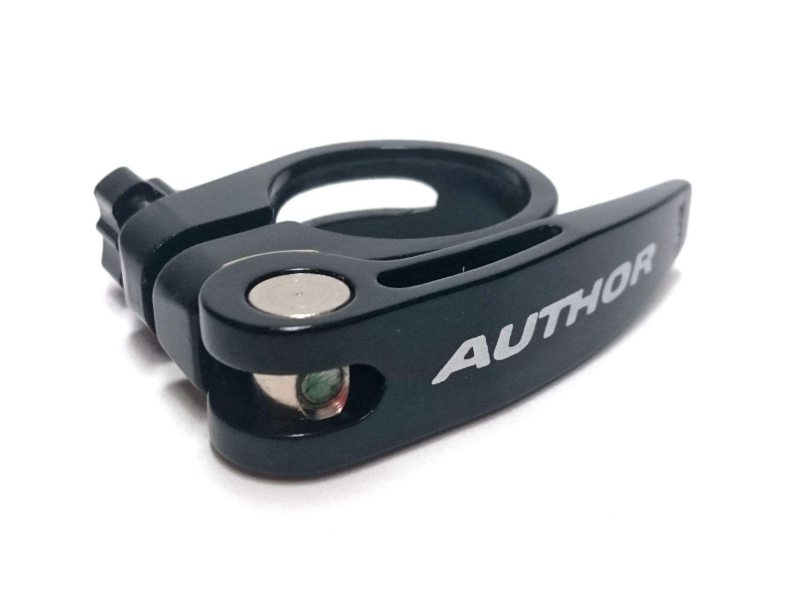 AUTHOR Objímka s Ru AQR-C13 d.31,8mm (černá-matná)