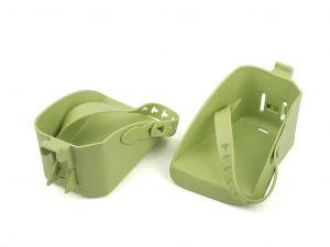 AUTHOR Opěrka nohou - model Bubbly maxi  (zelená)