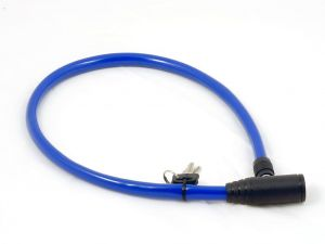 AUTHOR Zámek ACL-04 klíč  d.6x600mm (modrá)