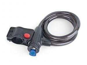 AUTHOR Zámek ASL-45 spir d.12x1200mm (černá)
