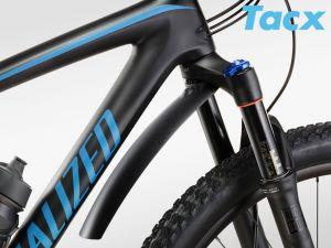 TACX Blatník TACX MTB - přední  (černá)