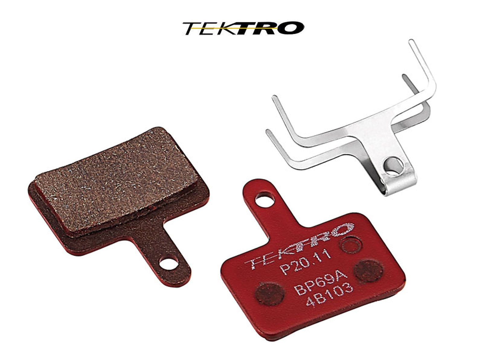 TEKTRO Brzdové destičky TK-P20.11 - Orion (2ks) (červená)