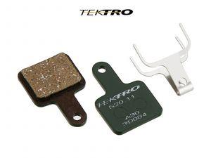 TEKTRO Brzdové destičky TK-S20.11 - Volans (2ks)  (zelená)