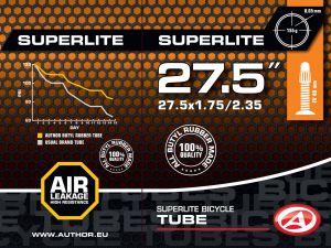 """AUTHOR Duše AT-MTB-27,5"""" SuperLite FV40 27.5x1.75/2.35 (černá)"""