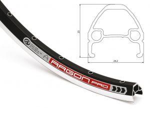 AUTHOR Ráfek ACO Argon Pro CNC 559x18/ 36 (černá)
