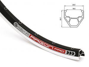 AUTHOR Ráfek ACO Argon Pro X7 CNC 559x19/ 32 (černá)