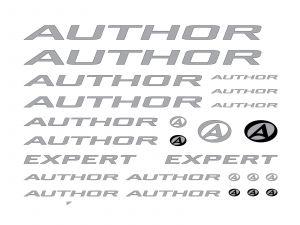 AUTHOR Samolepky na rám Expert (pod lak) 2016 bílá Author
