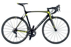 AUTHOR Charisma 77 2019 56 karbon/žlutá-neon silniční kolo