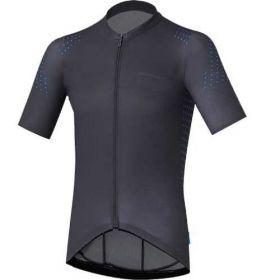 SHIMANO S-PHYRE dres s krátkým rukávem, černá, L