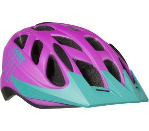 LAZER přilba J1 CE-CPSC/ fialová turquoise + net + led