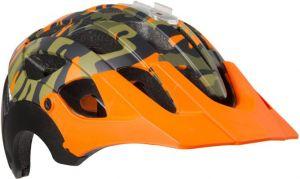LAZER přilba MTB REVOLUTION Camo černá/Flash oranžová S 52-56 cm
