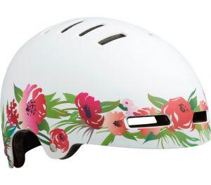 LAZER přilba Street+ JR CE/ matná flower růžovo bílá