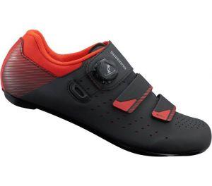 SHIMANO silniční obuv SH-RP400MO, černá/oranžová, 45