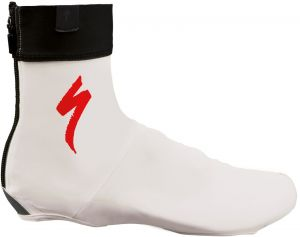 návleky na  tretry Specialized COVER S-LOGO WHT/RED L