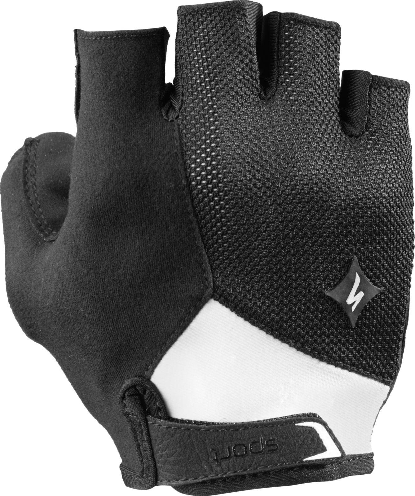 rukavice Specialized BG SPORT krátkoprsté dámské BLK/WHT XL