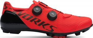tretry Specialized S-Works Recon MTB Rocket Red 43.5
