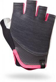 rukavice Specialized BG TRIDENT SF dámské CARB HTHR/NEON PNK XL