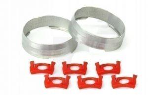 MAVIC 2 SILVER TRACOMP RINGS + CLIPS (L99693800) Množ. Uni