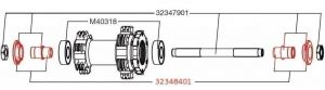 MAVIC EXPANSIBLE BEARINGS SUPPORT (32348401) Množ. Uni