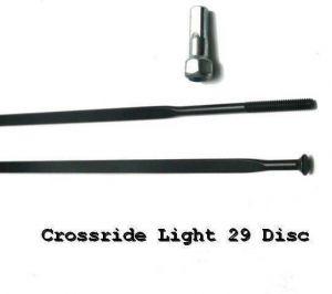 MAVIC KIT 12 DS CROSSRIDE LIGHT 29' SPOKE 295mm  (V2382701) Množ. Uni