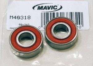 MAVIC KIT 2 HUB BEARINGS 6001 (M40318) Množ. Uni