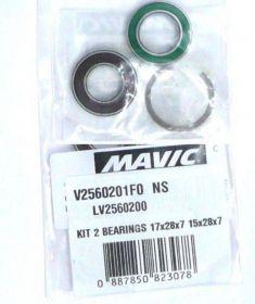 MAVIC KIT ID360 BEARINGS 15/28/7 + 17/28/7  (LV2560200) Množ. Uni