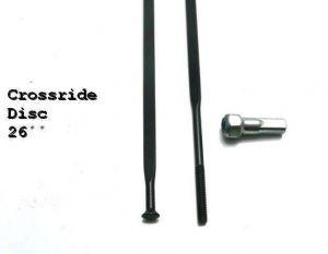 "MAVIC KIT 12 DS CROSSRIDE 13 26"" 15/12 SPK 261mm (35126501) Množ. Uni"