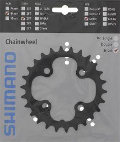 SHIMANO převodník MTB/Trekking-ostatní 26 z 10 spd trojpřevodník pro 48-36-26 z černý