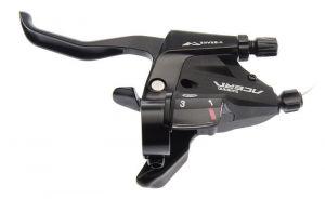 SHIMANO řad/brzd. páka ACERA ST-M390 MTB/trek pro V-brzdy levá 3 rychl 2 prstá černá
