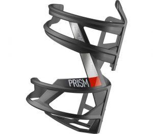 ELITE košík PRISM LEFT Carbon černý matný/červený