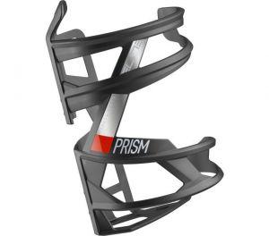 ELITE košík PRISM RIGHT Carbon černý matný/červený