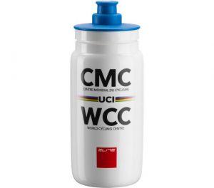 ELITE láhev FLY CMC WCC, bílá 550 ml
