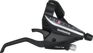 SHIMANO řad/brzd. páka ACERA ST-EF65 MTB/trek pro V-brzdy pravá 9 rychl 2 prstá černá
