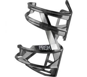 ELITE košík PRISM LEFT Carbon černý lesklý/bílý